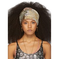 Missoni Multicolor Knit Knot Headband