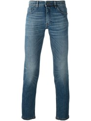 Fendi Slim Fit Jeans Blue