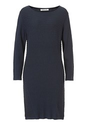 Betty Barclay Knitted Dress Blue
