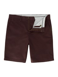 Linea Oakley Chino Shorts Red