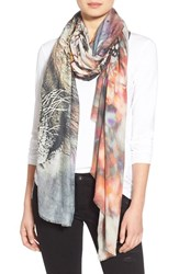 Lily And Lionel Women's Lily And Lionel 'Oberon Sunset' Print Modal And Cashmere Scarf