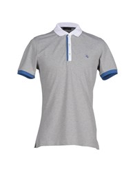 Fay Topwear Polo Shirts Men Grey