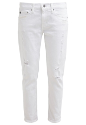 Ag Adriano Goldschmied Relaxed Fit Jeans White White Denim