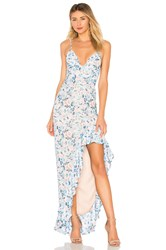 Lovers Friends Ahamani Gown Baby Blue