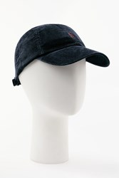 Ralph Lauren Polo Corduroy Baseball Cap One Size Navy