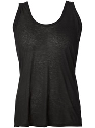 The Row 'Mastontho' Tank Top Black
