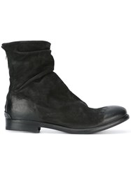 The Last Conspiracy Distressed Ankle Boots Black