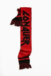 Urban Outfitters Conquer Scarf Red