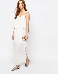 Only Strappy Back Maxi Dress Cloud Dancer White