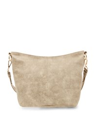 Steve Madden Safia Textured Hobo Grey