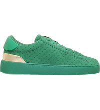 Nine West Palyla Suede Trainers Green