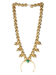 Aurelie Bidermann Navajo Bells Gold Plated Necklace