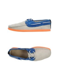 N.D.C. Made By Hand Moccasins Dark Blue