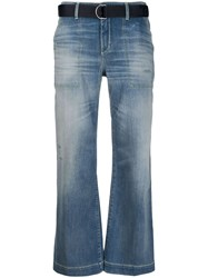 Jacob Cohen Cropped Bell Flare Jeans 60