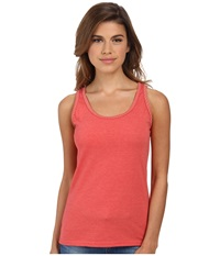 Woolrich Norrine Embroidered Trim Tank Shell Pink Women's Sleeveless