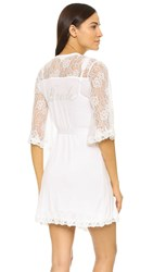 Pj Salvage Wifey Robe Antique White