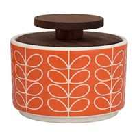 Orla Kiely Linear Stem Sugar Bowl Tomato