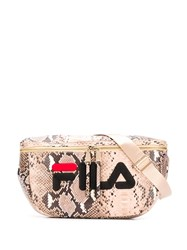 Fila Snakeskin Effect Belt Bag 60