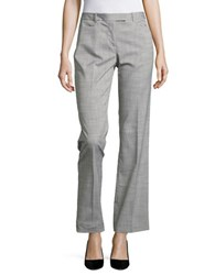 Tommy Hilfiger Straight Leg Ankle Pants Pebble