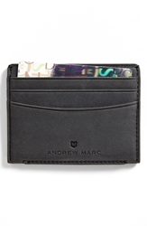Andrew Marc New York 'Warren' Card Case Charcoal