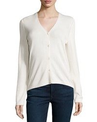 Carolina Herrera Button Front Cashmere Cardigan Blush