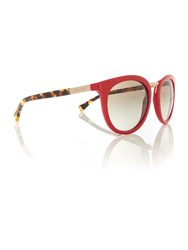 Ralph Red Round Ra5207 Sunglasses