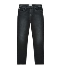 7 For All Mankind Luxe Sport Tapered Jogger Jeans Male Dark Grey