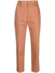 Sofie D'hoore Prior Cropped Trousers Brown