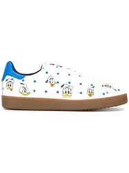 Moa Master Of Arts Donald Duck Print Sneakers White