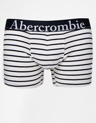 Abercrombie And Fitch Trunks In Stripe White