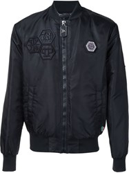Philipp Plein 'Everglades' Bomber Jacket Black