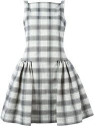 Vivienne Westwood Anglomania Sleeveless Checked Dress Black