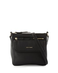 Cole Haan Amherst Leather Crossbody Bag Black