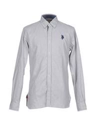 U.S. Polo Assn. U.S.Polo Assn. Shirts Shirts Men Light Grey
