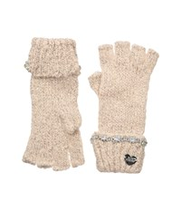 Betsey Johnson On The Rocks Half Finger Gloves Blush Dress Gloves Pink