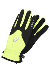 Asics Winter Gloves Safety Yellow Neon Yellow