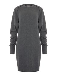 Label Lab Three Way Charcoal Knitted Dress
