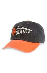 American Needle Men's Dyer Mlb Baseball Cap Black Giants