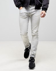 Loyalty And Faith Stretch Skinny Jeans In Grey Acid Wash
