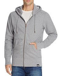 American Giant X Bloomingdale's Holiday Collection Classic Full Zip Hoodie Heather Gray