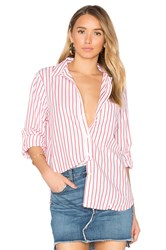 Stateside Oxford Shirting Button Up Red