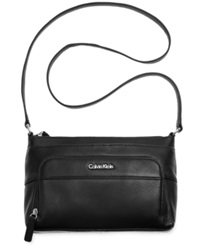 Calvin Klein Pebble Crossbody Black