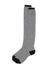 Sock It To Me Striped Knit Over The Knee Socks Multi