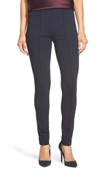 Lafayette 148 New York Punto Milano Skinny Pants Ink