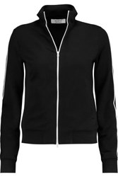 Bailey 44 Stretch Modal And Cotton Blend Jacket Black