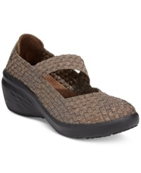 Bare Traps Kassie Mary Jane Wedges Women's Shoes Bronze