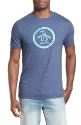 Men's Original Penguin Distressed Logo T Shirt