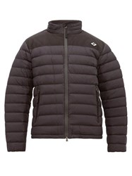 Burberry Birkenshaw Logo Patch Quilted Jacket Black