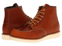Red Wing Shoes 6 Moc Toe Oro Legacy Men's Lace Up Boots Tan