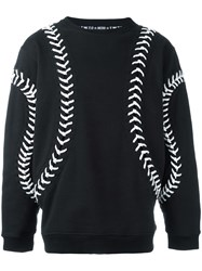 Ktz 'Baseball' Sweatshirt Black